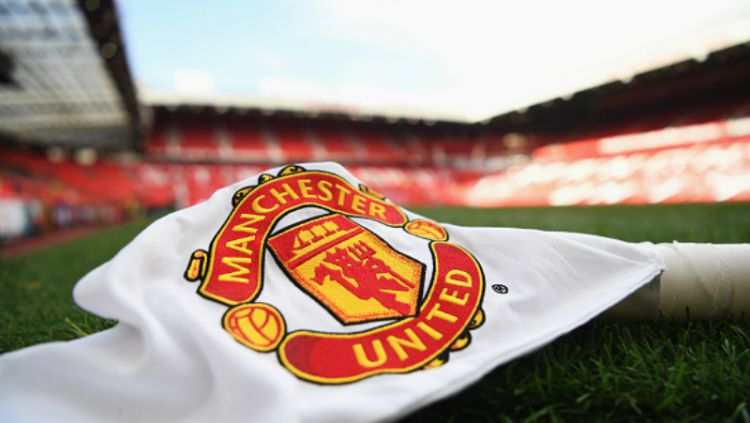 Bendera Manchester United. Copyright: © getty images