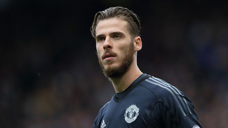 Kiper Manchester United, David De Gea. Copyright: © INDOSPORT
