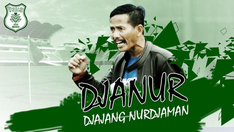 Pelatih PSMS Medan, Djajang Nurdjaman. Copyright: © Grafis: Eli Suhaeli/INDOSPORT