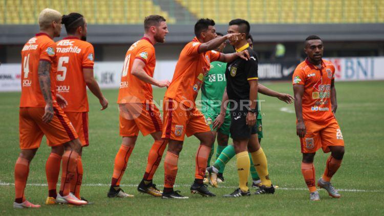 Pemain Borneo FC Copyright: © Herry Ibrahim/INDOSPORT