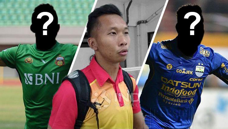 Bhayangkara FC, Awan Setho Raharjo, dan Persib Bandung. Copyright: © INDOSPORT
