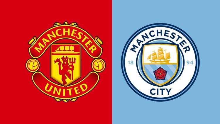 Dua klub Liga Inggris, Manchester United dan Manchester City dapat ancaman dari Florentino Perez terkait bergulirnya Liga Super Eropa. Copyright: © Grafis: Eli Suhaeli/INDOSPORT