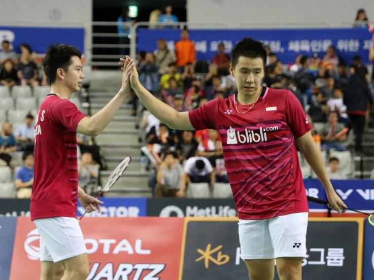Kalahkan Denmark, Kevin/Marcus Ke Final Japan Open 2017