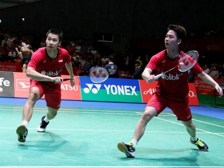 Kevin/Marcus Dekati Rekor Indonesia di Super Series