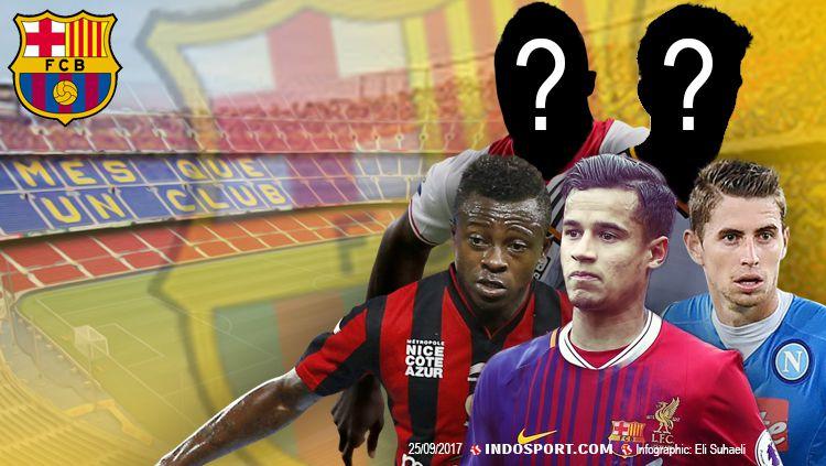 5 Pemain yang harus dibeli Barcelona pada bulan Januari mendatang. Copyright: © Grafis: Eli Suhaeli/INDOSPORT