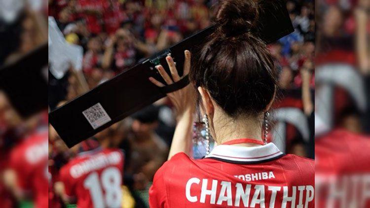 Ini kekasih cantik pesepakbola Thailand Chanathip Songkrasin yang cantiknya luar biasa. Copyright: © Instagram