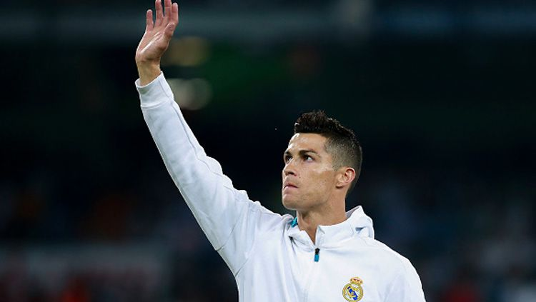 Cristiano Ronaldo, pemain megabintang Real Madrid. Copyright: © INDOSPORT