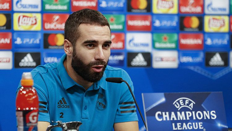 Dani Carvajal, bek sayap Real Madrid. Copyright: © getty images