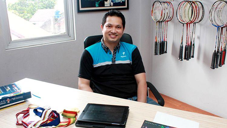 Juara dunia Bulutangkis, Hariyanto Arbi. Copyright: © swa.co.id
