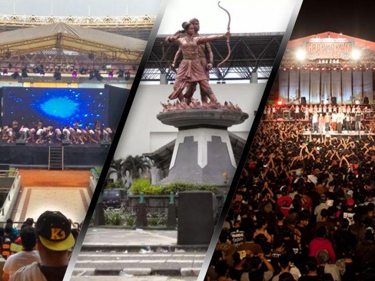 5 Stadion Indonesia yang Disulap Jadi Panggung Konser