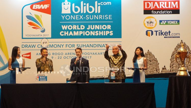 Drawing BWF World Junior Championship 2017. Copyright: © Herry Ibrahim/INDOSPORT
