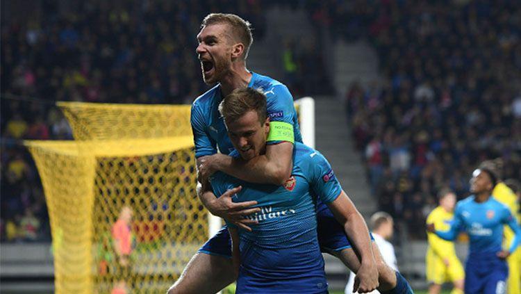 BATE vs Arsenal. Copyright: © INDOSPORT