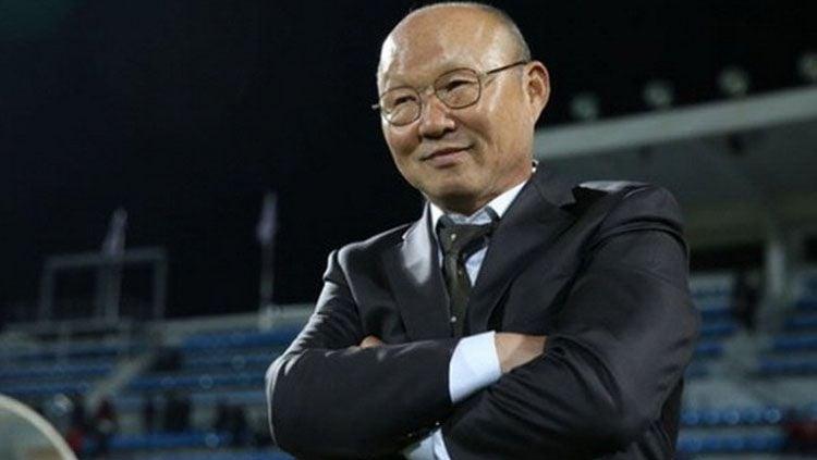 Pelatih Timnas Vietnam, Park Hang-seo langsung fokus untuk menghadapi Timnas Indonesia yang dilatih Shin Tae-yong di Kualifikasi Piala Dunia 2022. Copyright: © thethaovanhoa.vn