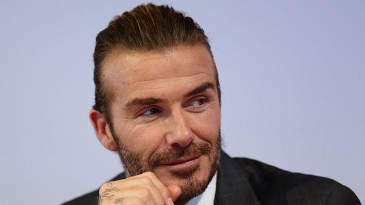 Patung David Beckham akan dipajang di markas LA Galaxy. Copyright: © INDOSPORT