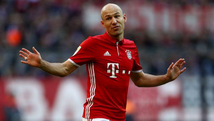 Gelandang serang Bayern Munchen, Arjen Robben pernah hampir bermain untuk Manchester United.. Copyright: © Indosport