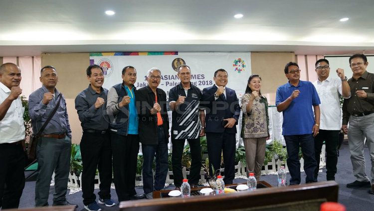 Tenis siap ke Asian Games 2018. Copyright: © Muhammad Effendi/Indosport