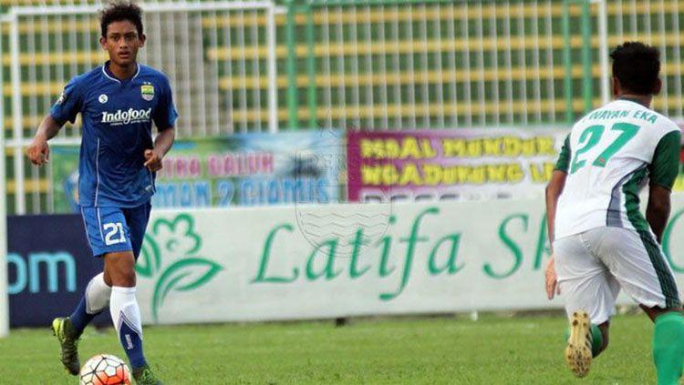 Ahmad Subagja Basith saat masih diPersib Bandung. Copyright: © Persib Bandung