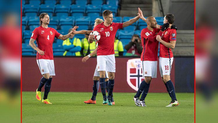 Salah satu pemain muda Timnas Norwegia U-20, Hakon Evjen menjadi incaran Manchester United. Copyright: © INDOSPORT