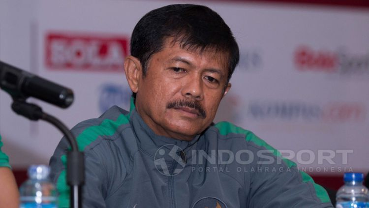 Pelatih Tim Nasional (Timnas) Indonesia U-19, Indra Sjafri. Copyright: © Petrus Manus Da'Yerimon/Indosport.com