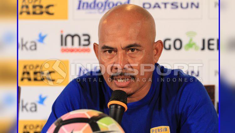 Herrie Setyawan, Mantan asisten pelatih Persib Bandung. Copyright: © Gita Agiet