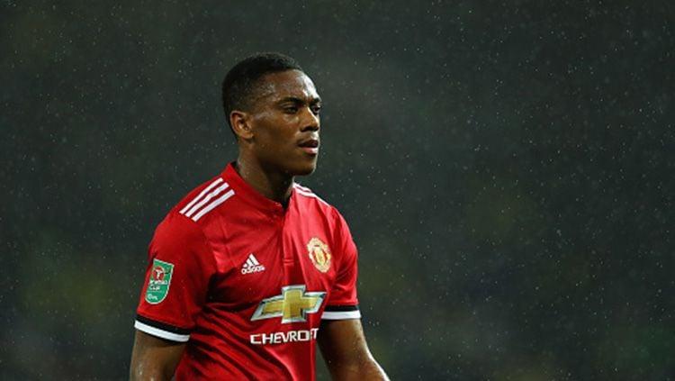 Anthony Martial, bintang muda Manchester United. Copyright: © INDOSPORT