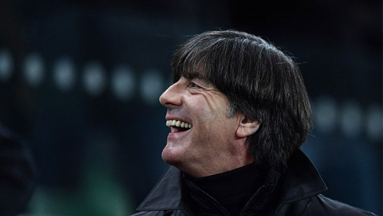 Pelatih Timnas Jerman, Joachim Low. Copyright: © INDOSPORT