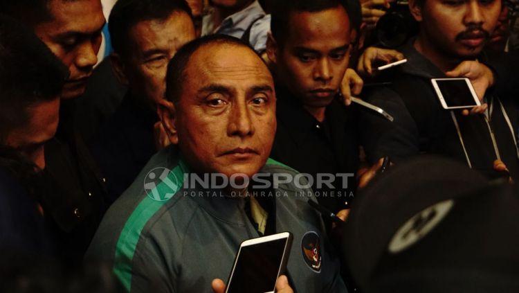 Ketua Umum PSSI, Edy Rahmayadi. Copyright: © Herry Ibrahim/INDOSPORT
