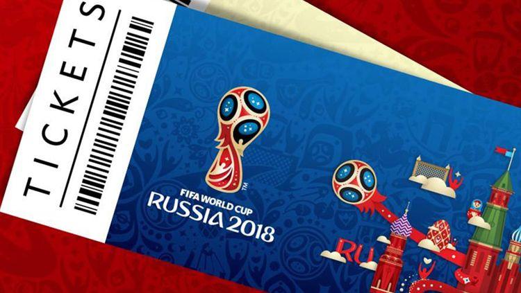 Tiket Piala Dunia 2018 Copyright: © FIFA