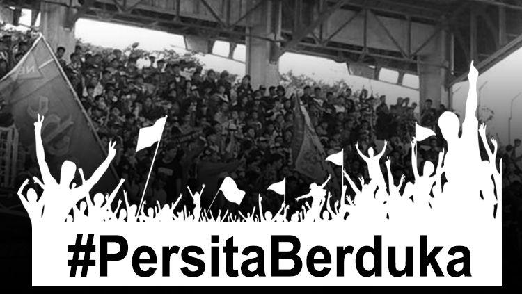 Suporter Persita Tangerang meninggal dunia hari ini usai bentrok dengan suporter PSMS Medan. Copyright: © Grafis: Eli Suhaeli/INDOSPORT