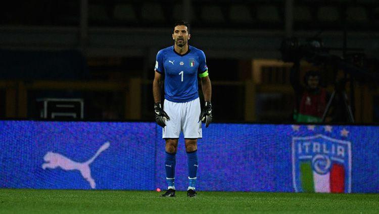 Kiper Timnas Italia, Gianluigi Buffon. Copyright: © Goal.com