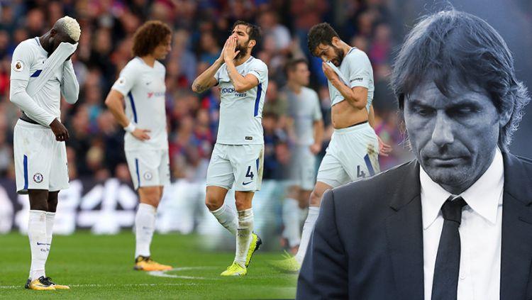 Antonio Conte, pelatih Chelsea. Copyright: © Indosort.com