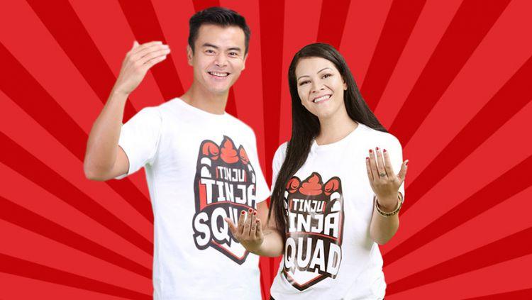 Dion Wiyoko dan Melanie Subono gabung Tinja Tinju Squad Copyright: © tinju tinjacom