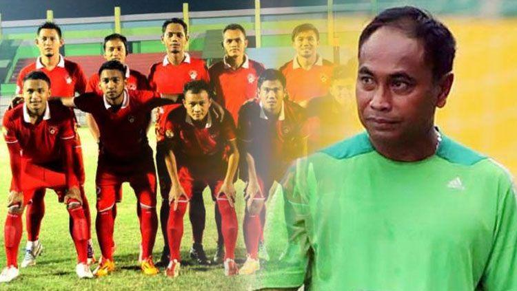 Skuat Kalteng Putra FC dan Kas Hartadi Copyright: © Indosport.com