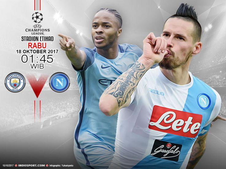 Prediksi Man City vs Napoli: Duel Maut Inggris vs Italia