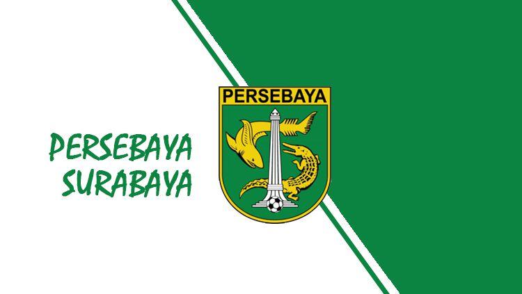 Logo Persebaya Surabaya. Copyright: © Grafis: Eli Suhaeli/INDOSPORT