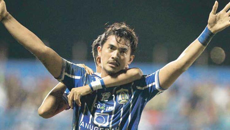 Bijahil Chalwa, striker Persiba Balikpapan Copyright: © PROKAL