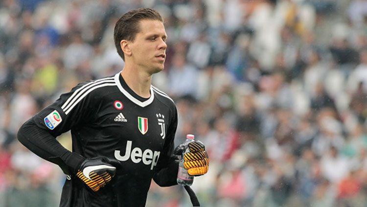 Kiper Juventus, Wojciech Szczesny, kabarnya akan menerima perpanjangan kontrak. Copyright: © INDOSPORT