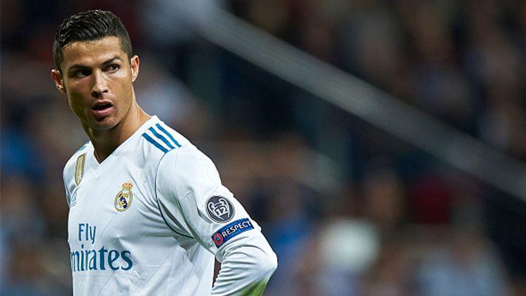 Pemain megabintang Real Madrid, Cristiano Ronaldo. Copyright: © INDOSPORT