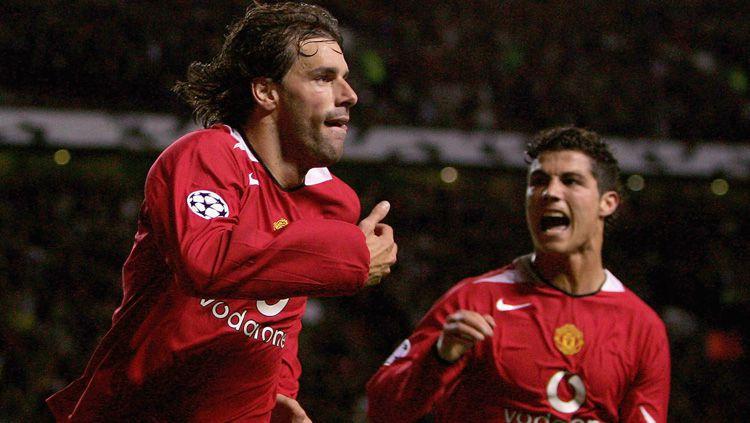 Van Nistelrooy, Legenda Manchester United yang Terbuang Karena Ronaldo Copyright: © Goal.com
