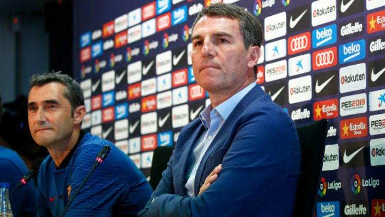 Robert Fernandez, Direktur Olahraga Barcelona. Copyright: © INDOSPORT