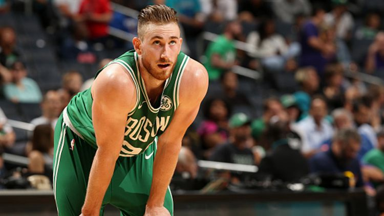 Pemain Boston Celtics, Gordon Hayward. Copyright: © INDOSPORT