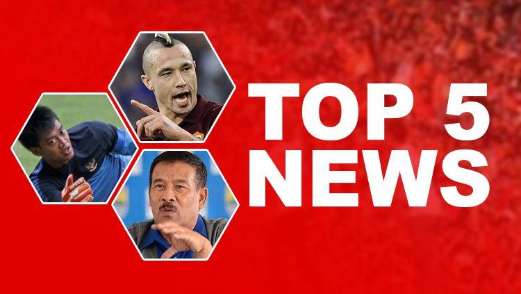 TOP 5 NEWS. Copyright: © INDOSPORT