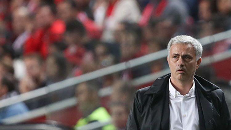 Pelatih Manchester United, Jose Mourinho. Copyright: © INDOSPORT