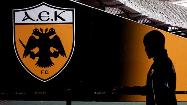 Logo AEK Athens. Copyright: © INDOSPORT