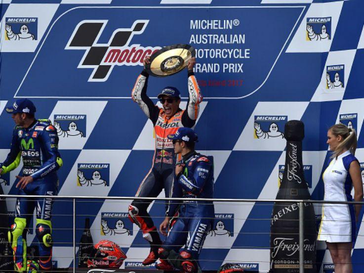 Menang MotoGP Australia, Marquez Jaga Asa Juara Dunia