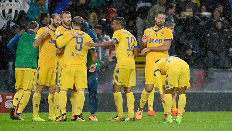 Para pemain Juventus. Copyright: © INDOSPORT