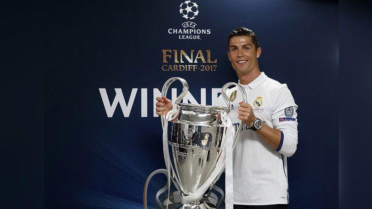 Striker Real Madrid, Cristiano Ronaldo. Copyright: © Grafis: Eli Suhaeli/INDOSPORT