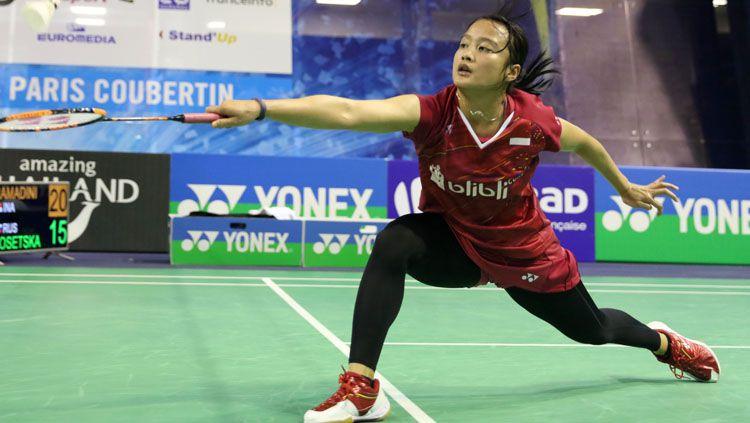 Hanna Ramadini, pebulutangkis tunggal putri Indonesia. Copyright: © PBSI