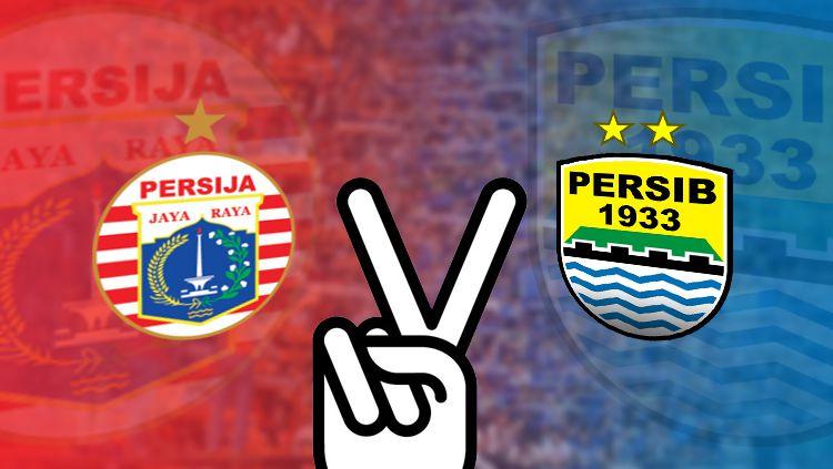Persija Jakarta vs Persib Bandung. Copyright: © Grafis: Eli Suhaeli/INDOSPORT