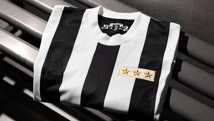 Ilustrasi jersey. Copyright: © juventus.com